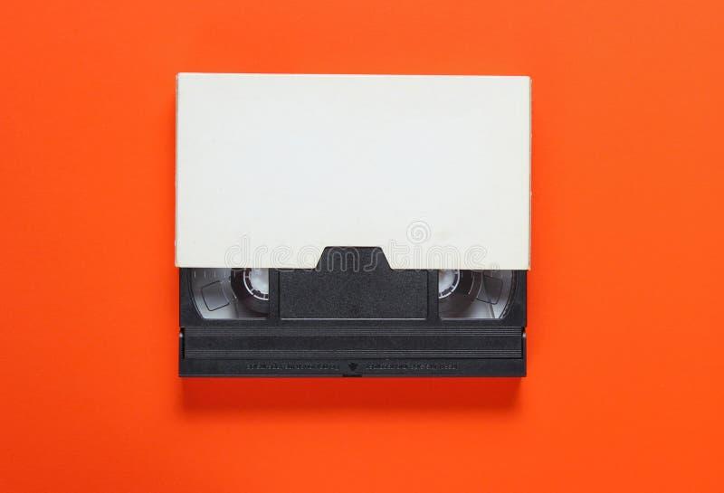 Видеолента в бумажном случае стоковые изображения rf
