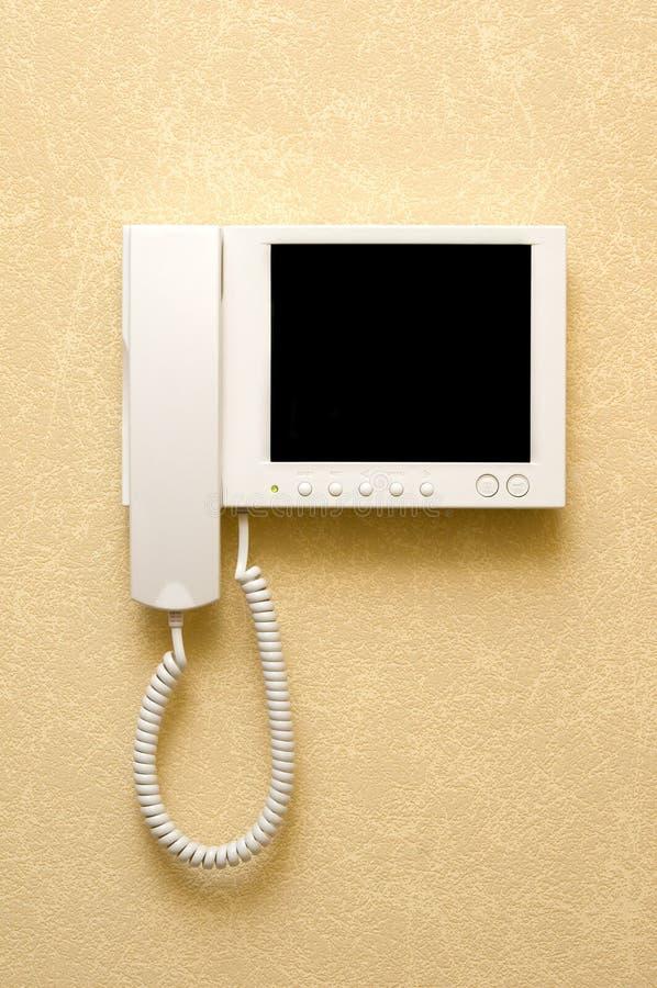 видео внутренной связи оборудования стоковое изображение rf