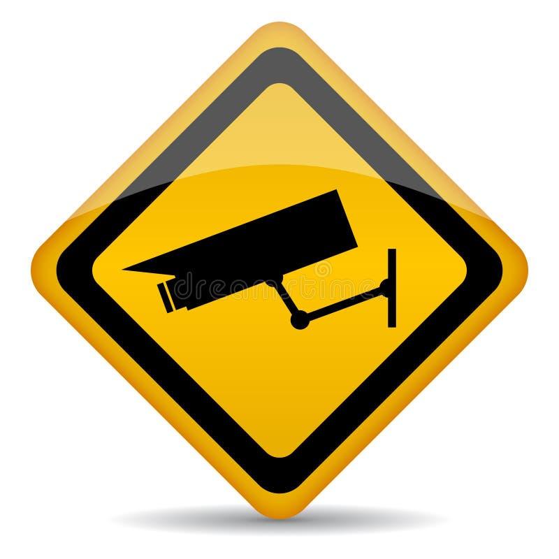 Видео- знак наблюдения бесплатная иллюстрация