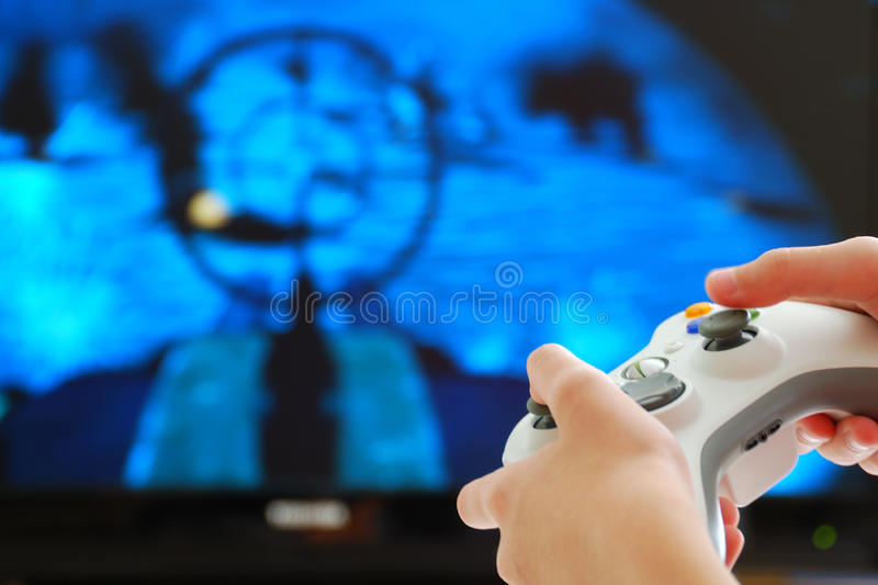 видео игры стоковые фотографии rf