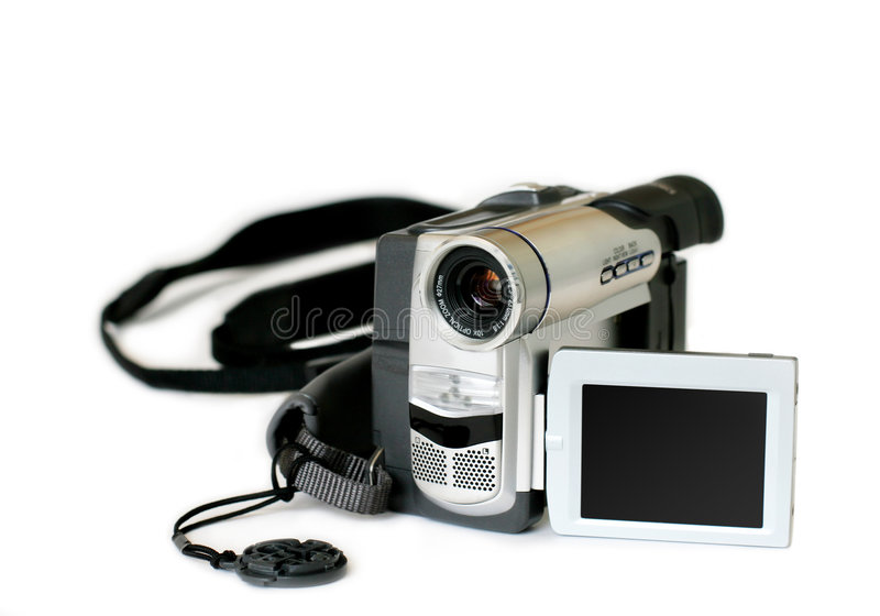 видео камеры дилетанта стоковое фото rf