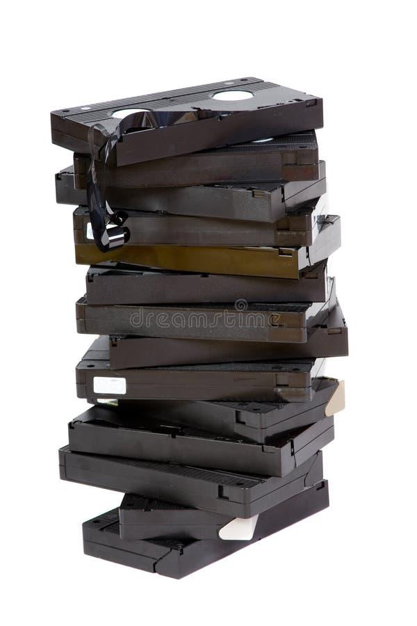 видео кассеты стоковое фото