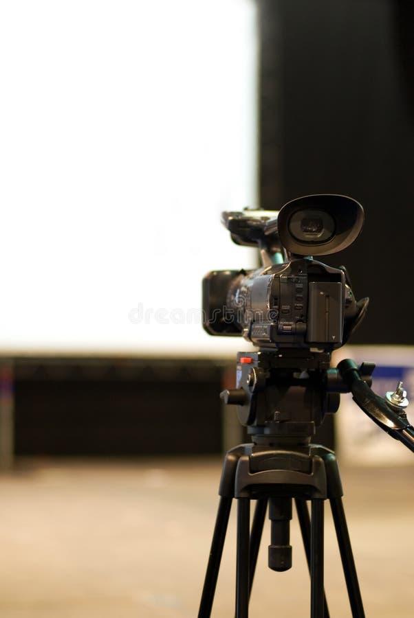 видео профессионала камеры стоковые фотографии rf