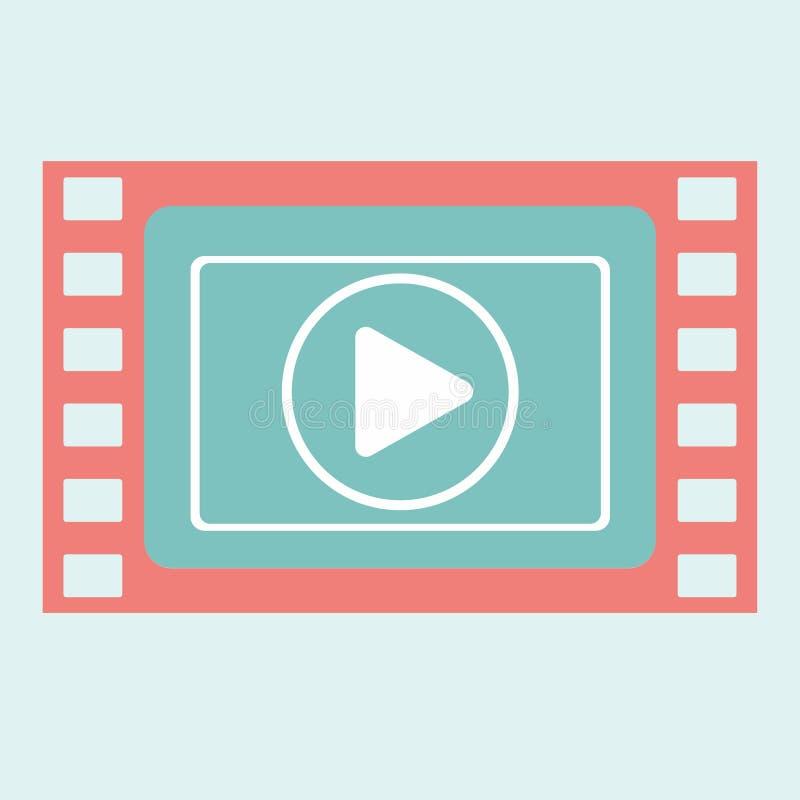 Видео- рамка игры иллюстрация штока