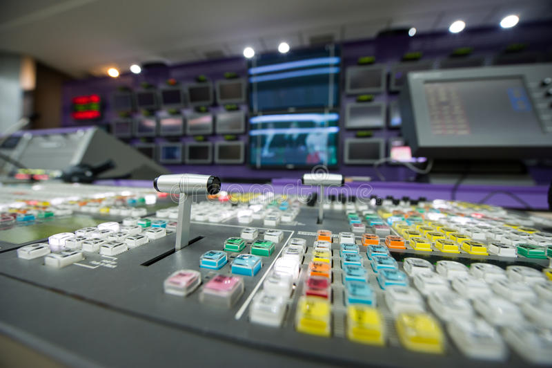 Видео- Switcher стоковые фотографии rf