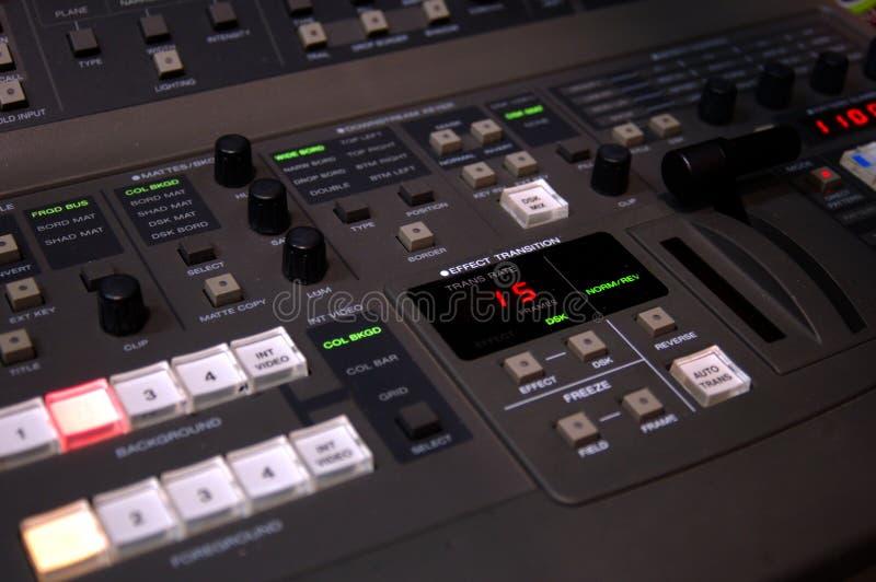 видео switcher стоковое изображение