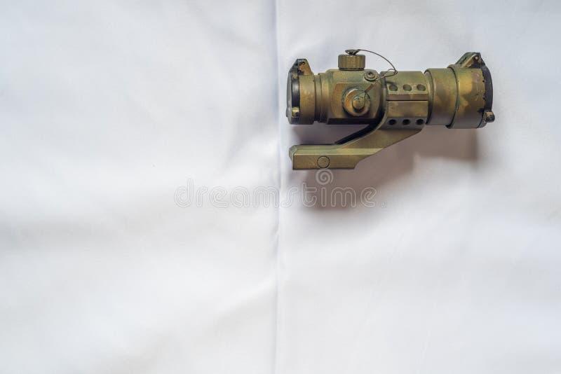 Видимость оружия на белой предпосылке стоковое фото