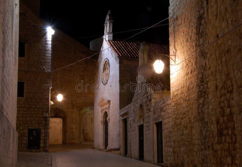 Виды на город Дубровника стоковые фотографии rf