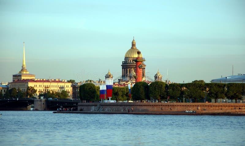 Виды на город Санкт-Петербурга стоковая фотография rf