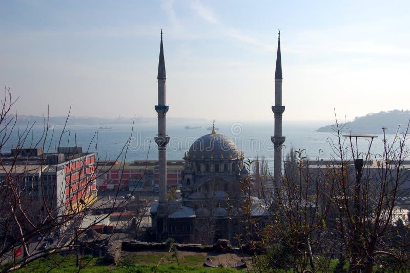 Виды на город Стамбула стоковое изображение