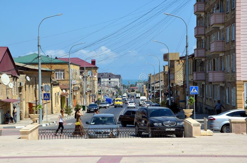 Виды на город Derbent стоковые изображения
