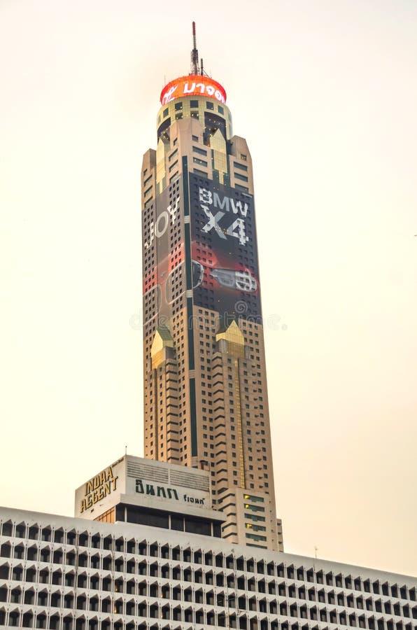 Вид на башню Байёке II в Бангкоке, Таиланд стоковые фотографии rf