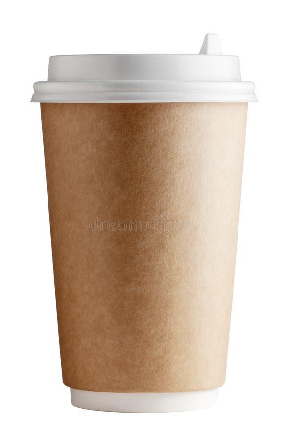 Вид спереди и конец-вверх чашки стоковое фото rf
