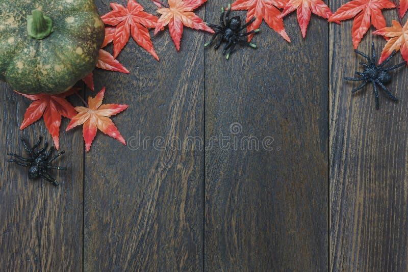 Вид с воздуха концепции предпосылки фестиваля хеллоуина верхнего орнамента счастливой стоковое изображение rf