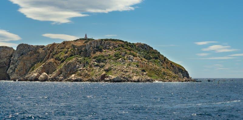 Вид с воздуха на острова Святой стоковые фотографии rf