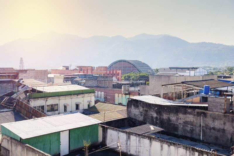Вид с воздуха Сан-Сальвадора стоковая фотография