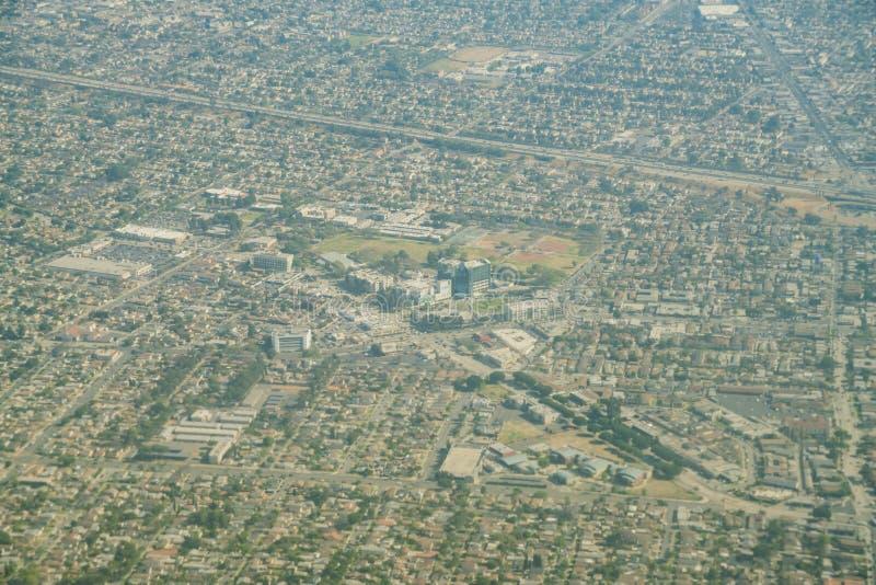 Вид с воздуха центра Св.а Франциск Св. Франциск медицинского, парк Lynwood стоковые изображения