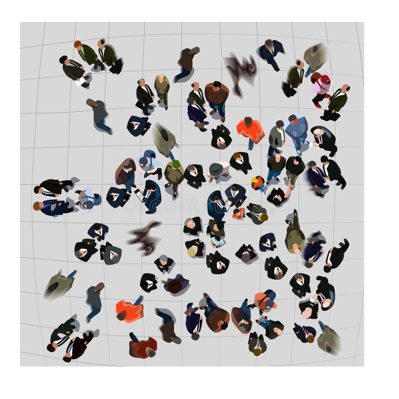 вид с воздуха бесплатная иллюстрация