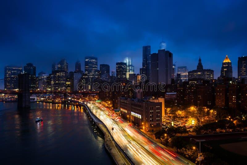 движение york города новое стоковое изображение rf