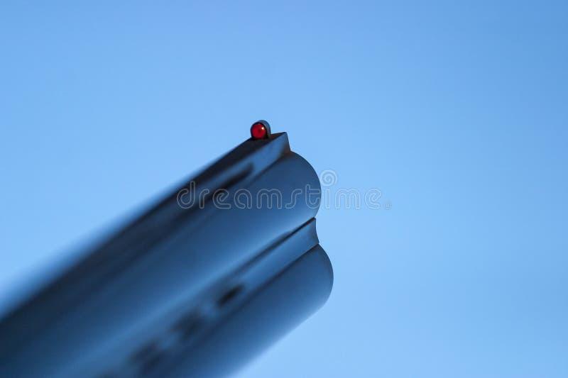 Визирование корокоствольного оружия стоковые изображения rf