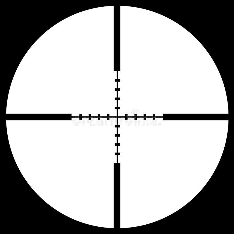 визирование crosshair иллюстрация штока