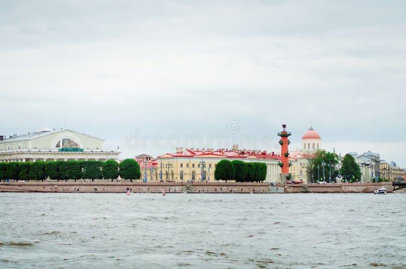 Визирования Ст Петерсбург Перемещение к красивым местам стоковая фотография