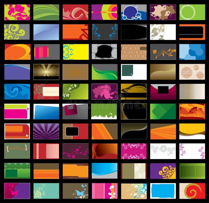 визитная карточка различная бесплатная иллюстрация