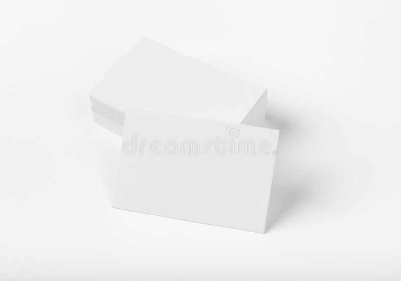 Визитные карточки стоковое изображение