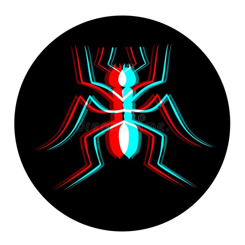 Визуально муравей бесплатная иллюстрация