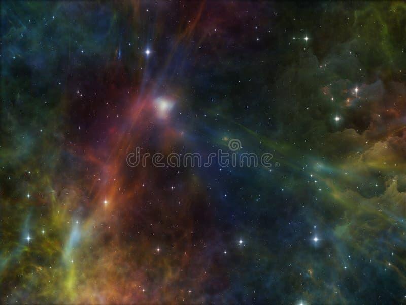 Download Визуализирование космоса иллюстрация штока. иллюстрации насчитывающей цветасто - 40589343