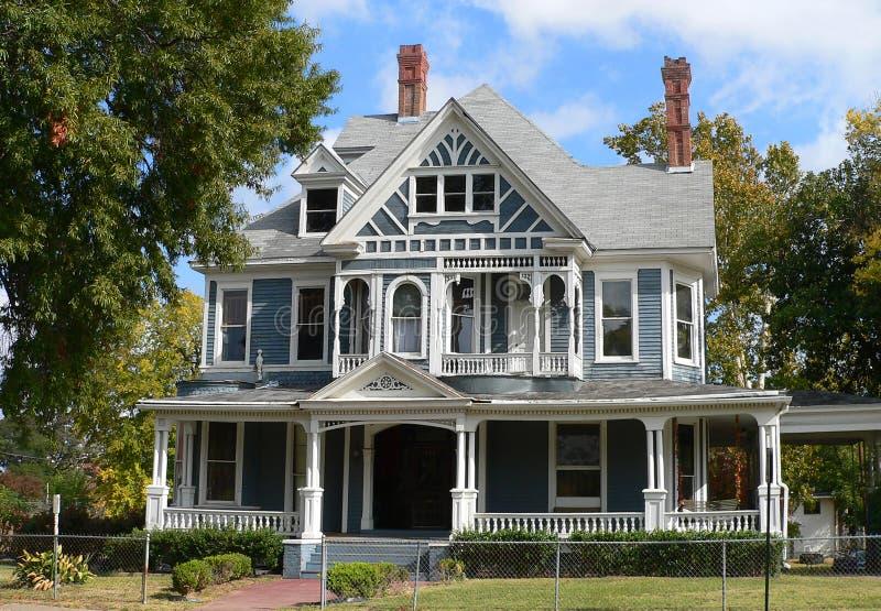 викторианец дома стоковое изображение