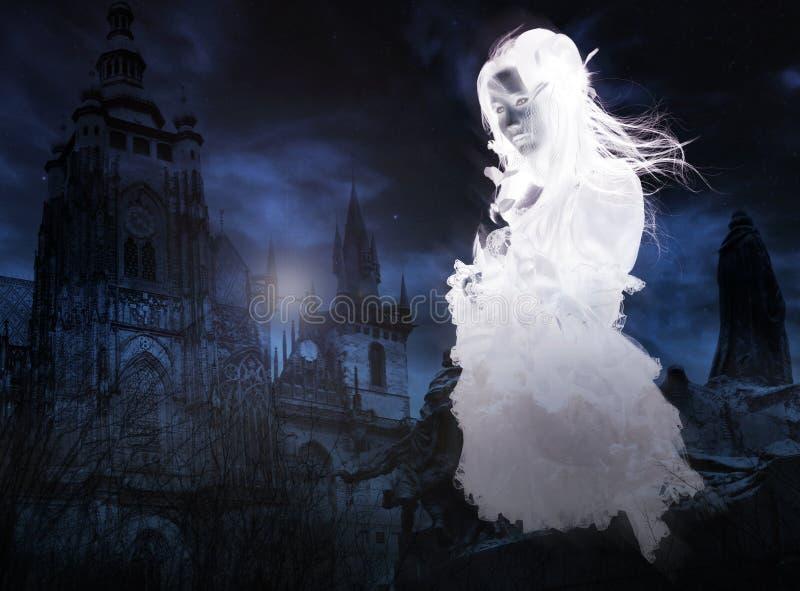 викторианец привидения стоковое фото