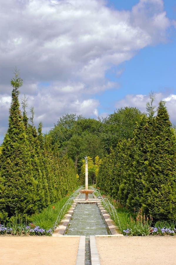 викторианец сада стоковые изображения