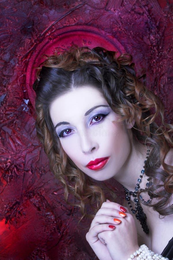 Download Викторианская дама стоковое изображение. изображение насчитывающей adulteration - 40581129