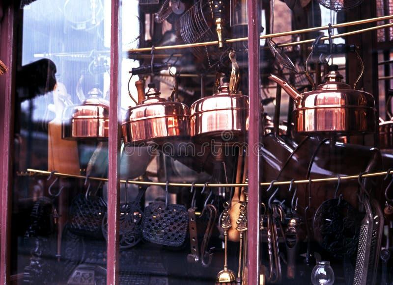 Викторианский магазин оборудования, Dudley стоковое фото