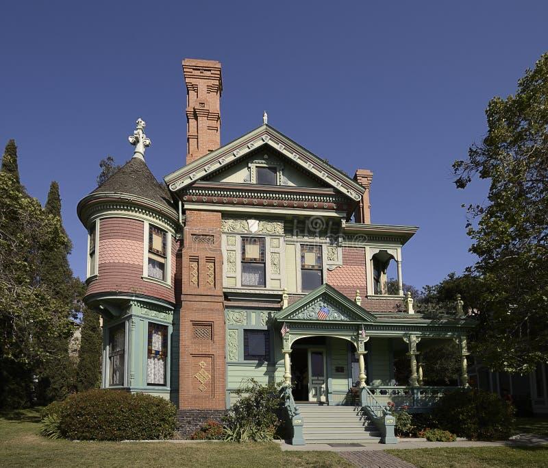 Викторианский дом стоковая фотография