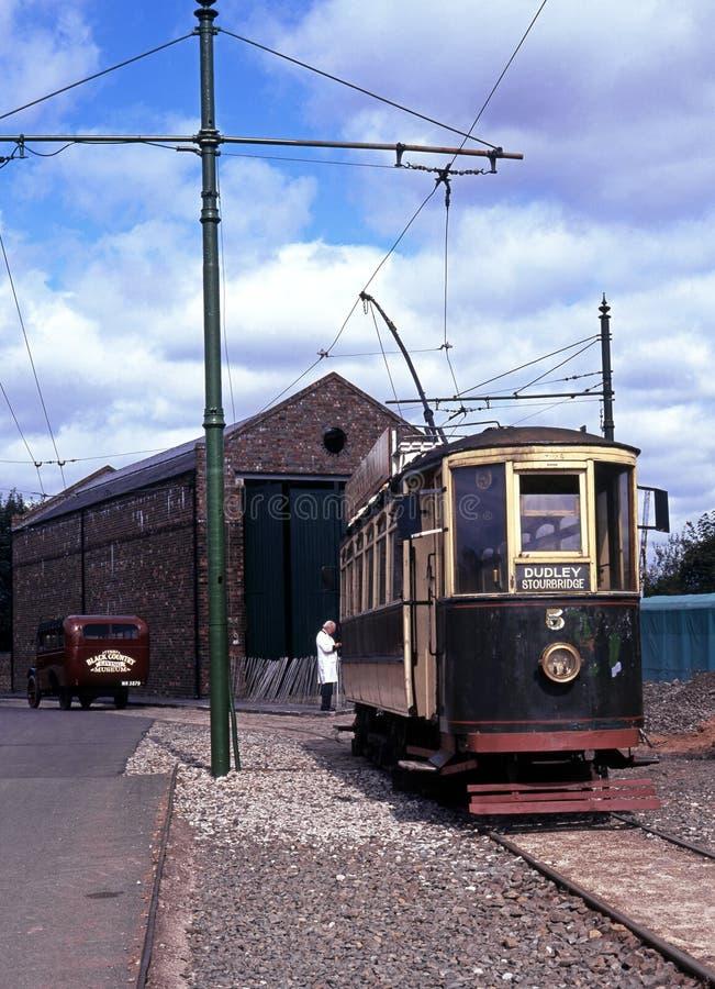 Викторианский трамвай, Dudley стоковые изображения
