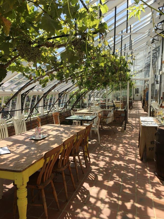 Викторианское охраняющее кафе стоковые фото