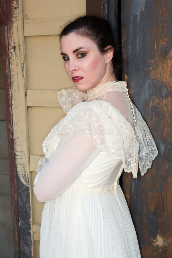 Викторианское платье стоковые фото