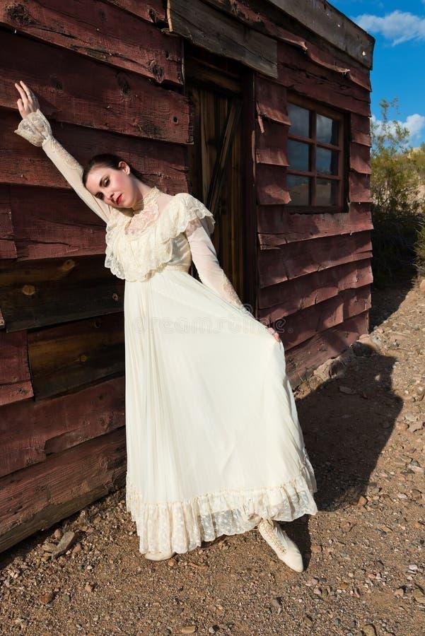 Викторианское платье стоковые изображения rf