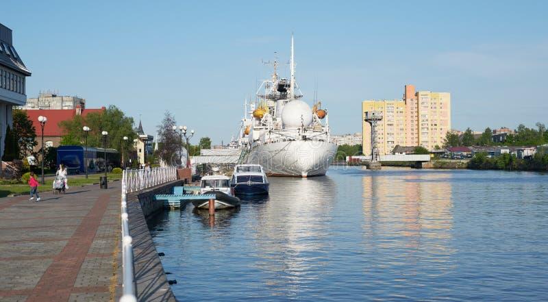 Виктор Patsaev - исследовательское судно стоковые фото