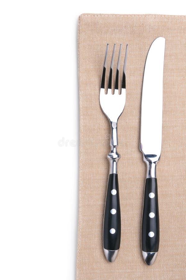 Вилка и нож стоковая фотография rf