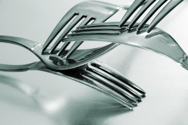 вилки стоковое изображение
