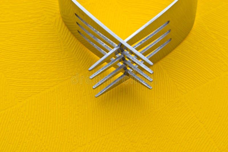 вилки 2 стоковые изображения rf