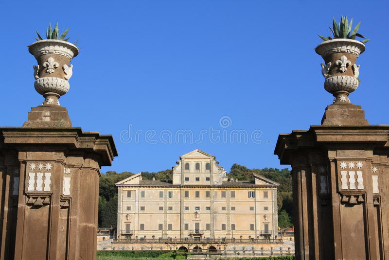 вилла Италии rome frascati aldobrandini стоковое изображение rf