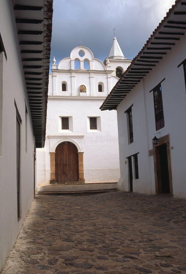 вилла Колумбии de leyva стоковое фото