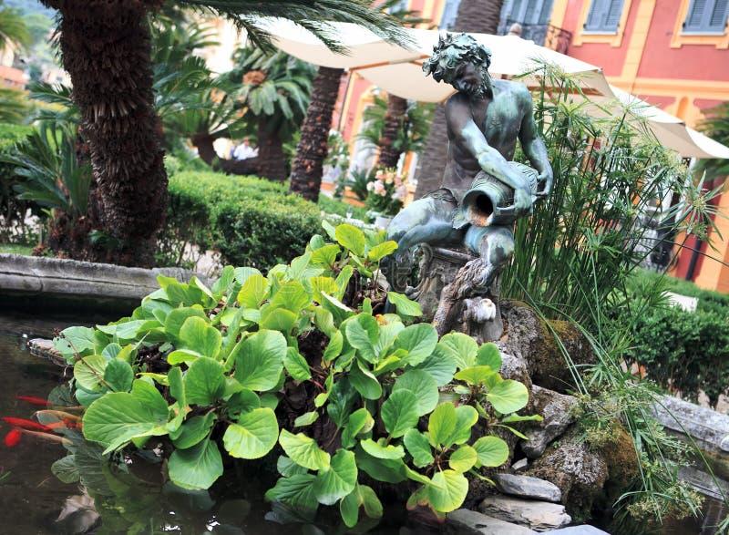 вилла парка фонтана durazzo стоковые фото