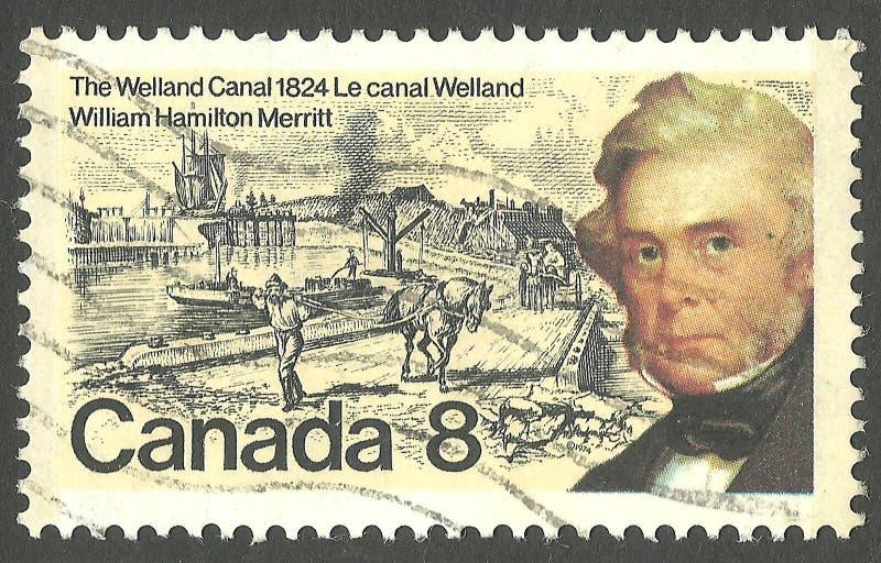 Вильям Гамильтон Меррит стоковое изображение rf