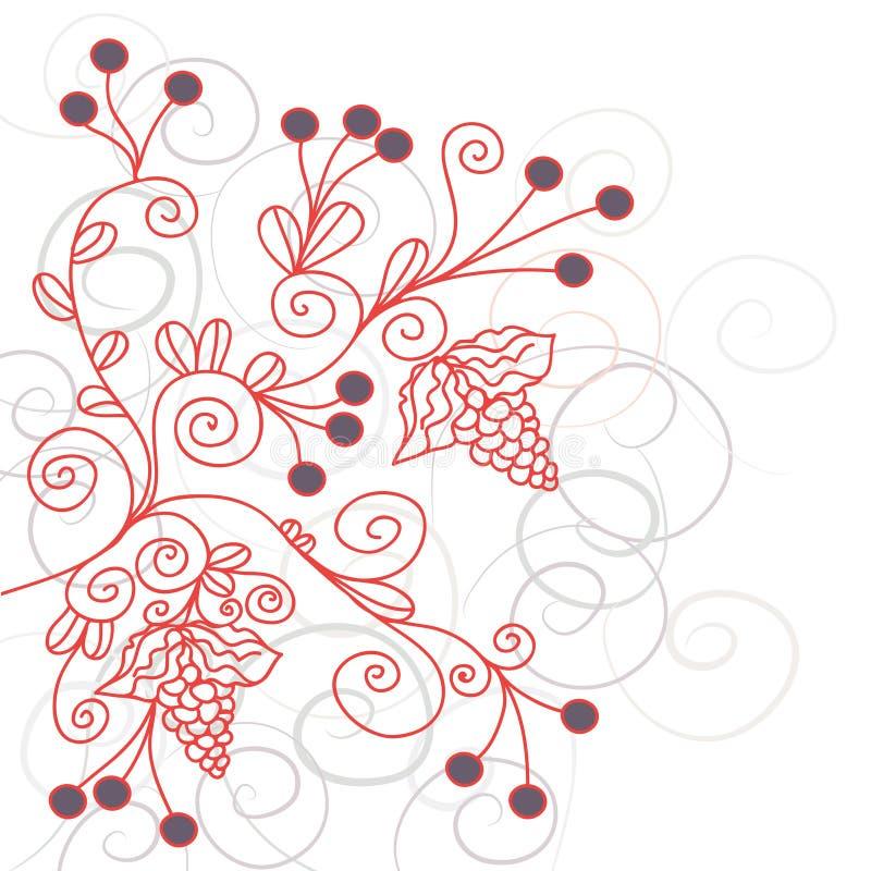 виноградина предпосылки флористическая бесплатная иллюстрация