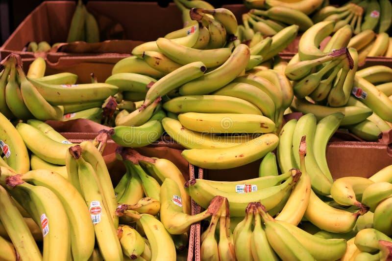 Виноградины бананов стоковое фото